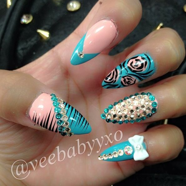 Totally love theses.... Stiletto nails
