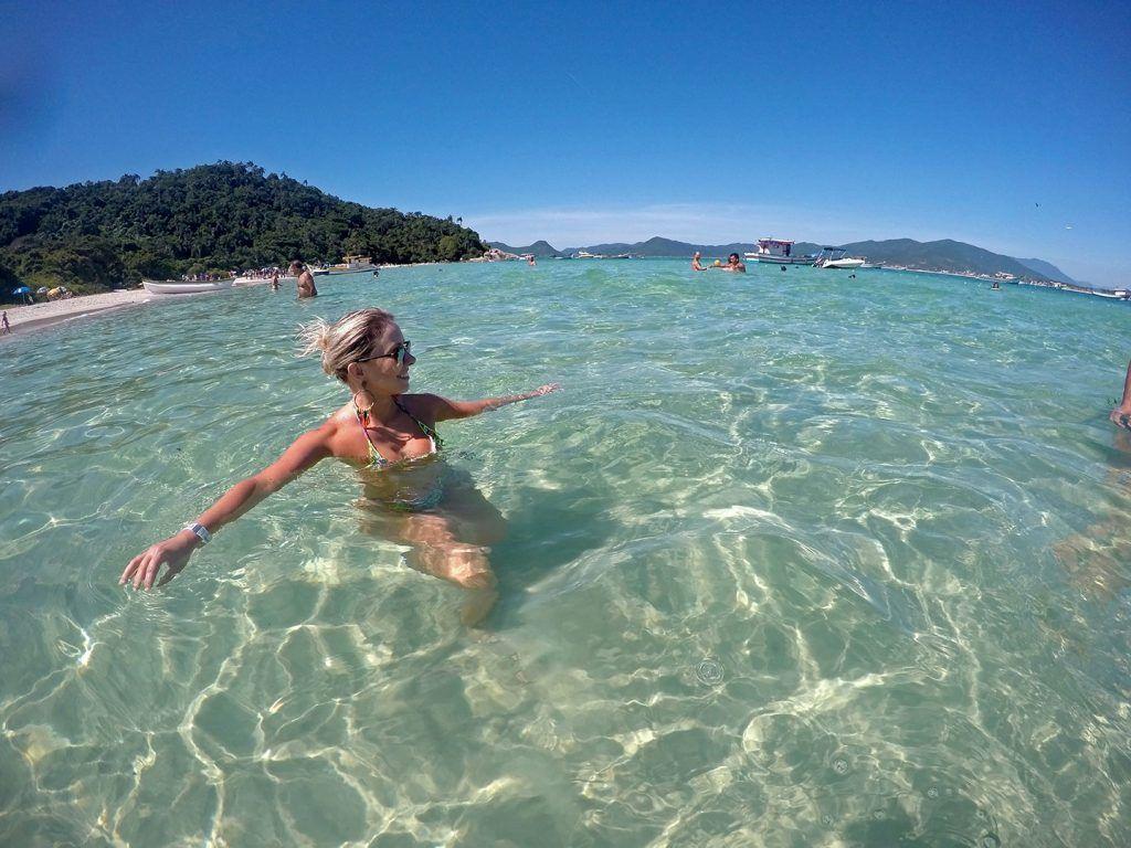 Ilha do Campeche – Florianópolis – SC! #florianopolis #brasil