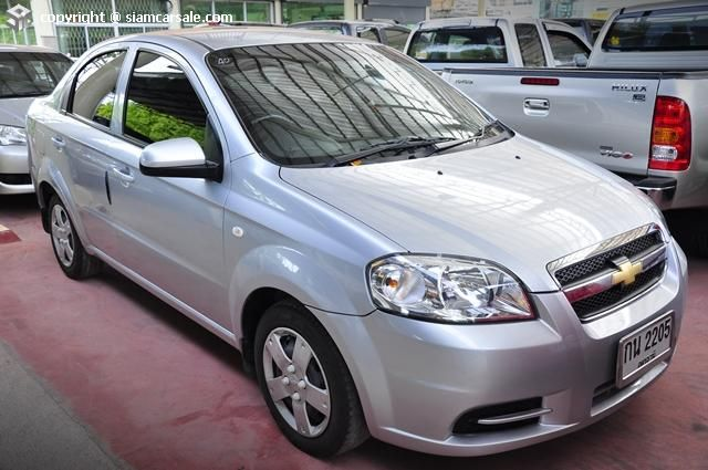 ขายรถ Chevrolet มาใหม Aveo Vgis ป 2010 รถม อสองกระบ ศ นย