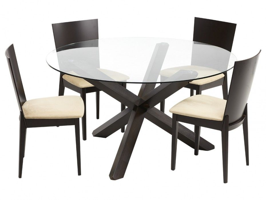 Pack Salle A Manger Ensemble Table 4 Chaises Centauri
