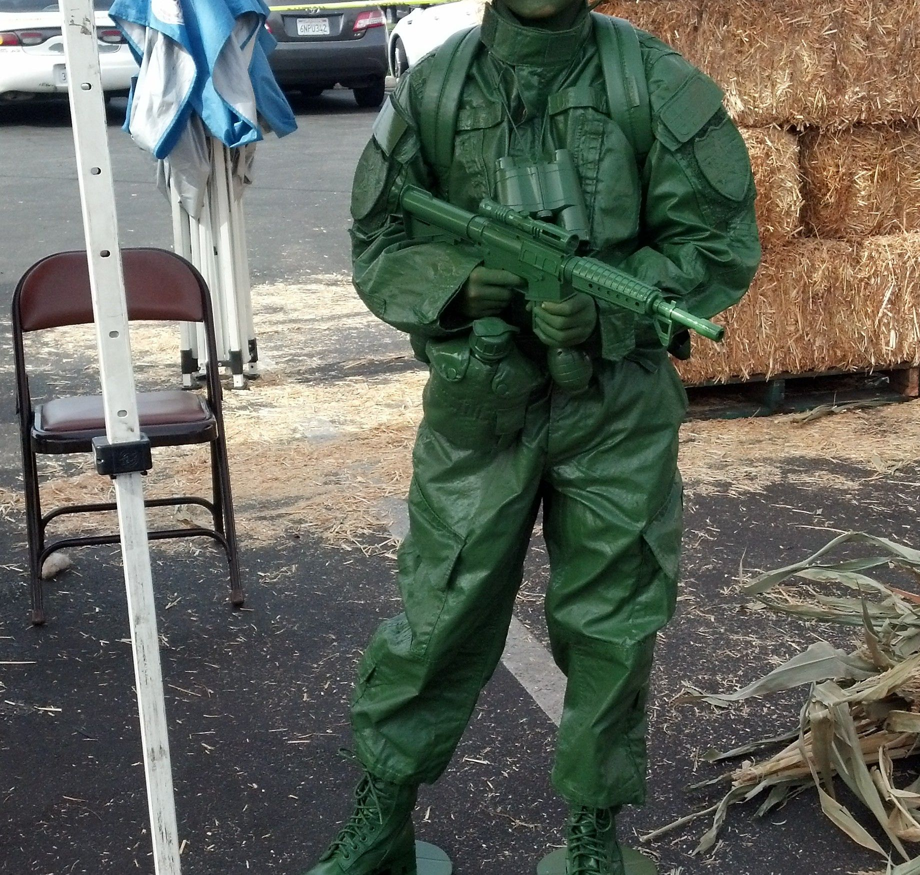 Toy Story Army Man Army men costume, Toy story halloween