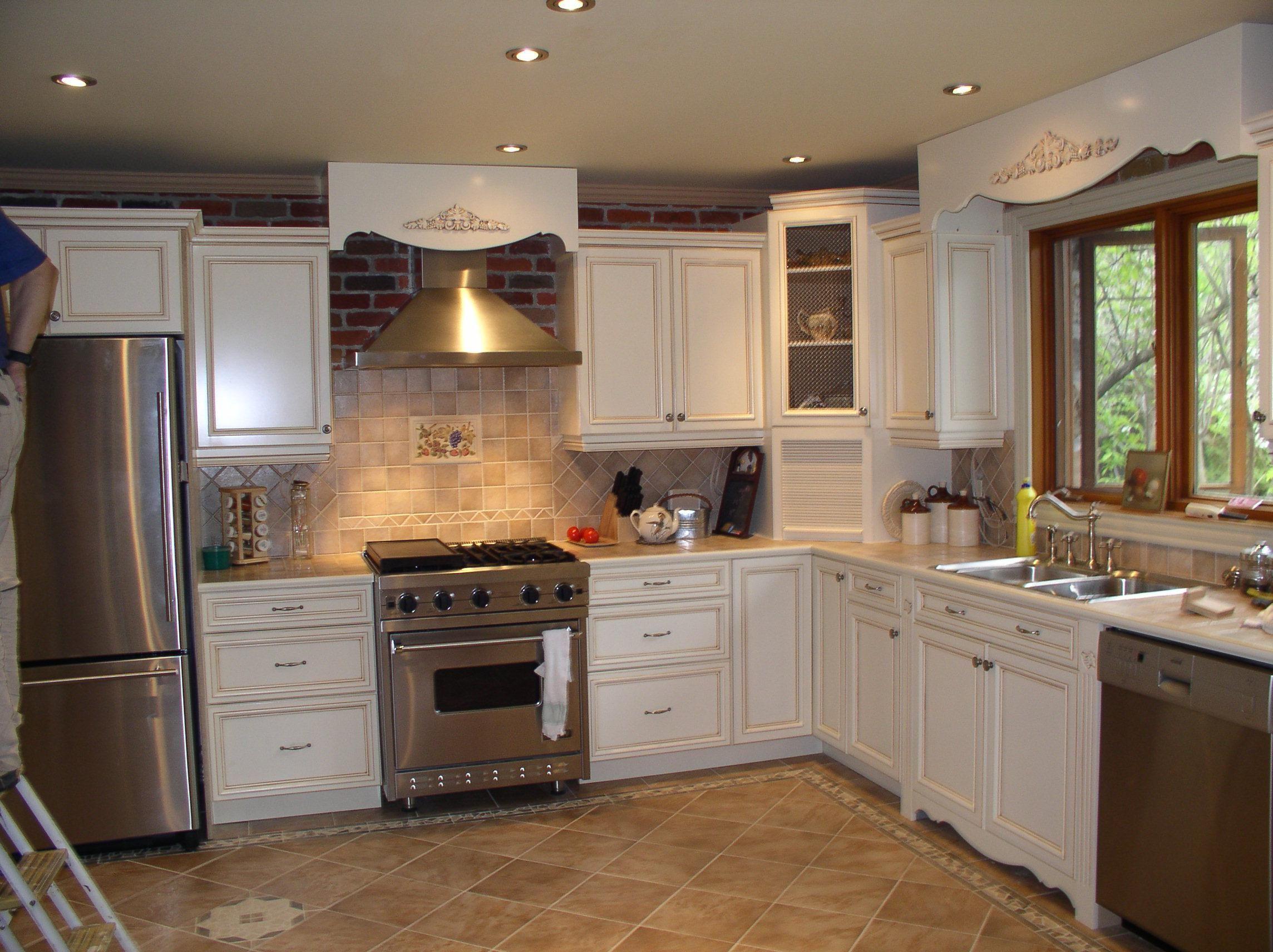 Antique White Kitchen Cabinets Amazing Photos Gallery Antique
