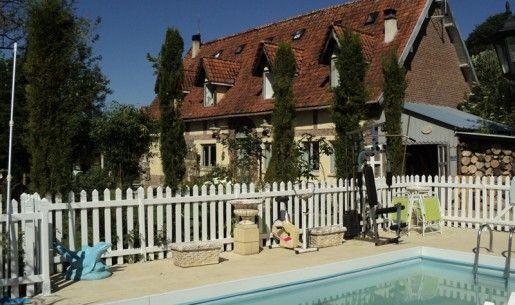 wwwgites-normandie-76/Chambre-d-hotes-Bracquetuit - Gites De France Avec Piscine Interieure