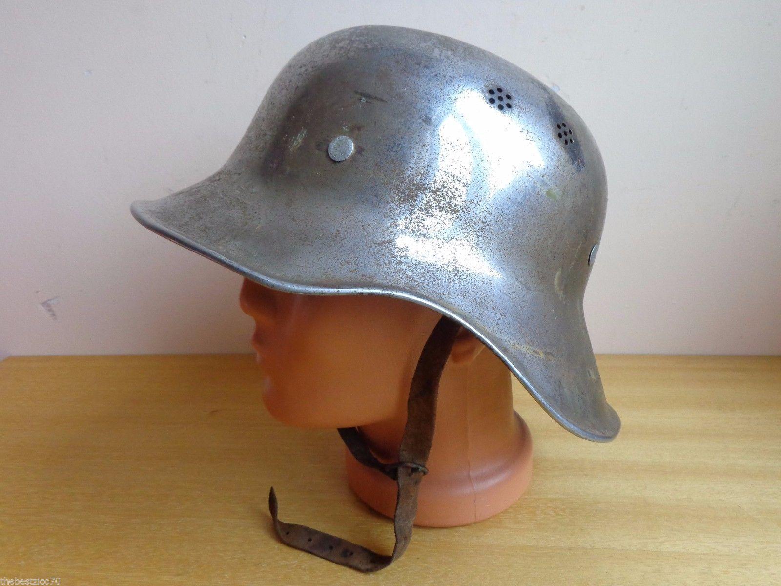 Vtg rare wwii german luftschutz m 38 rl2 39 2 gladiator steel helmet stahlhelm ebay