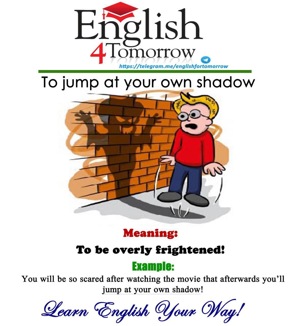 Pin By English For Tomorrow On English Idioms And