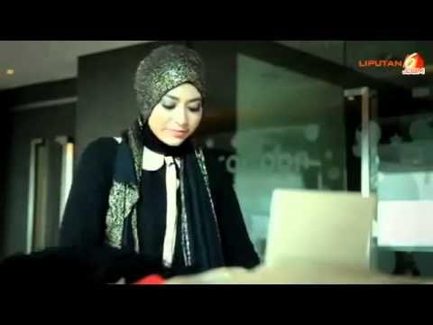 ▶ Tutorial Pashmina Glitter Untuk Pesta Wisuda Natasha Farani Hijab Tutorial Liputan6 Hijab - YouTube