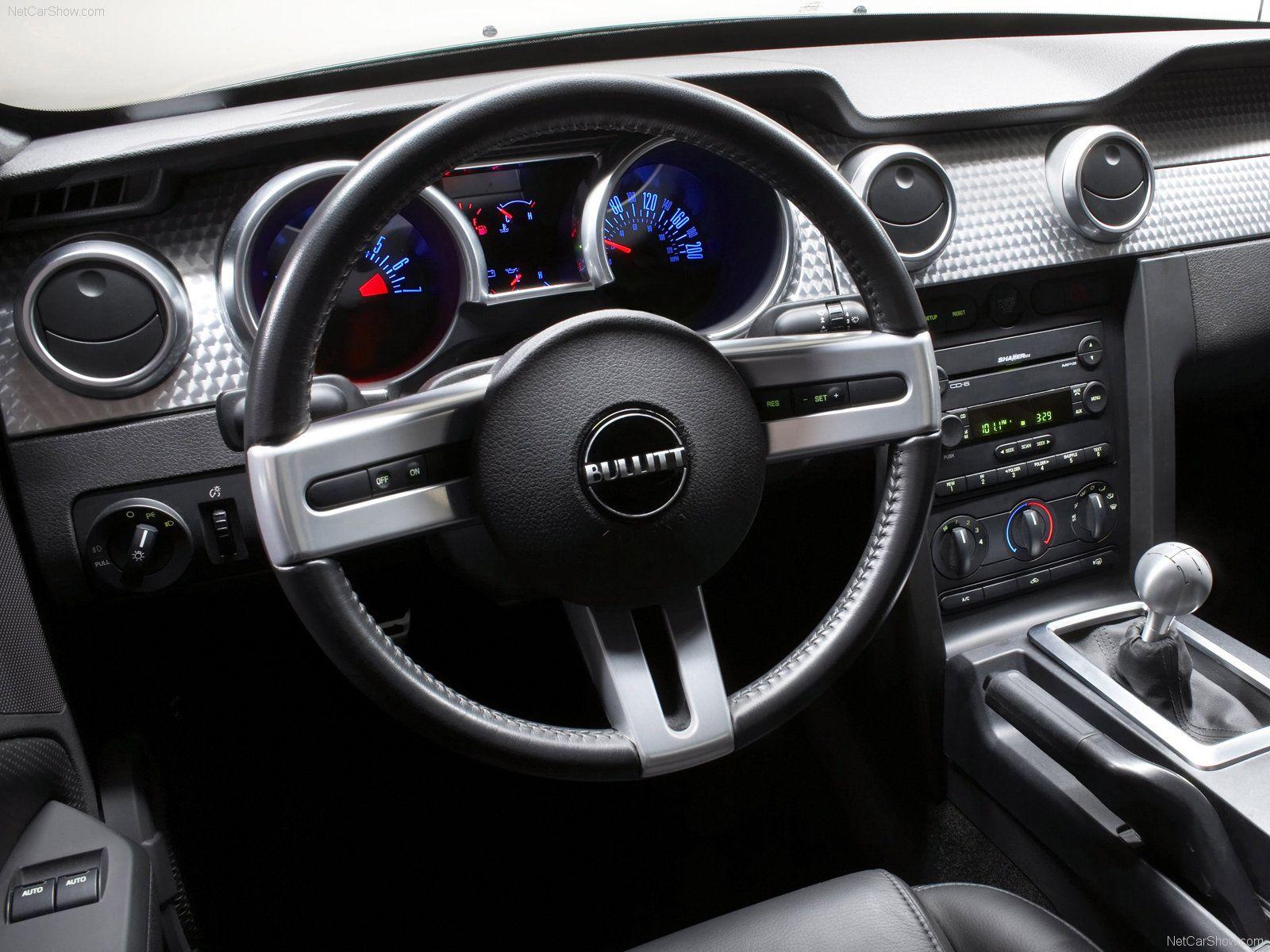 Ford Mustang Bullitt 2008 Special Edition Interior Mustang