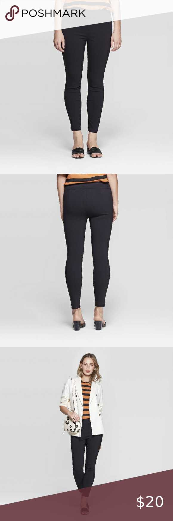 Who What Wear Cropped Black Dress Pants Brand New With Tags Please Let Me Know If You Have Any Questions W Dress Pants Skinny Cropped Pants Green Dress Pants [ 1740 x 580 Pixel ]