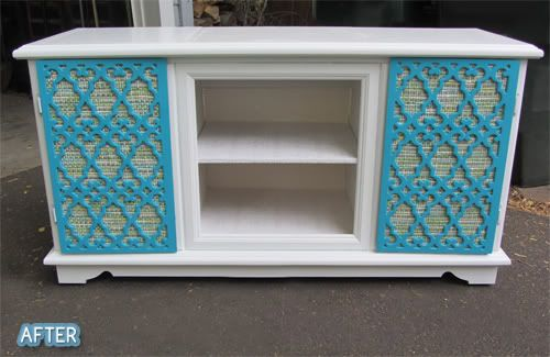 blue roof cabin: Old School Stereo Cabinet Redo | By hand : Repurpose |  Pinterest | Stereo Cabinet, Old
