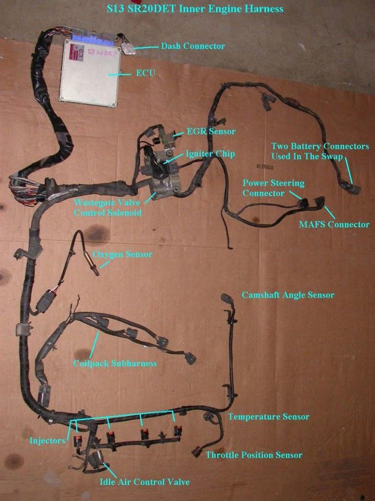S4 Engine Bay Harness Diagram