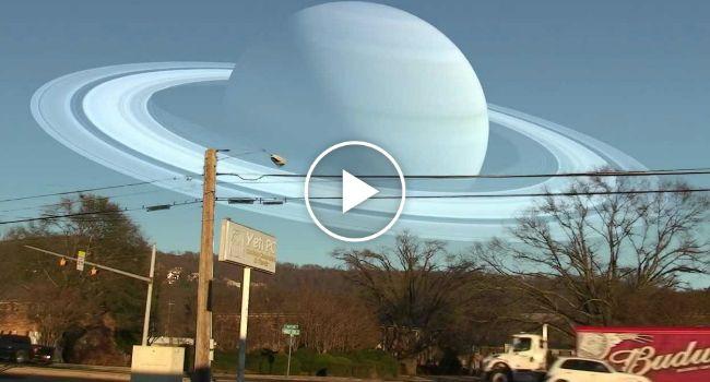 E Se Os Planetas Estivessem à Mesma Distância Que a Lua Está Da Terra