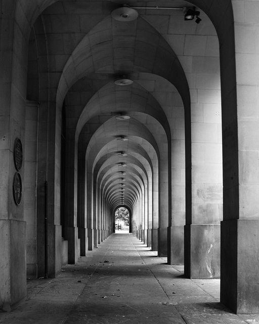 I enjoy the visual aspect of a good arch