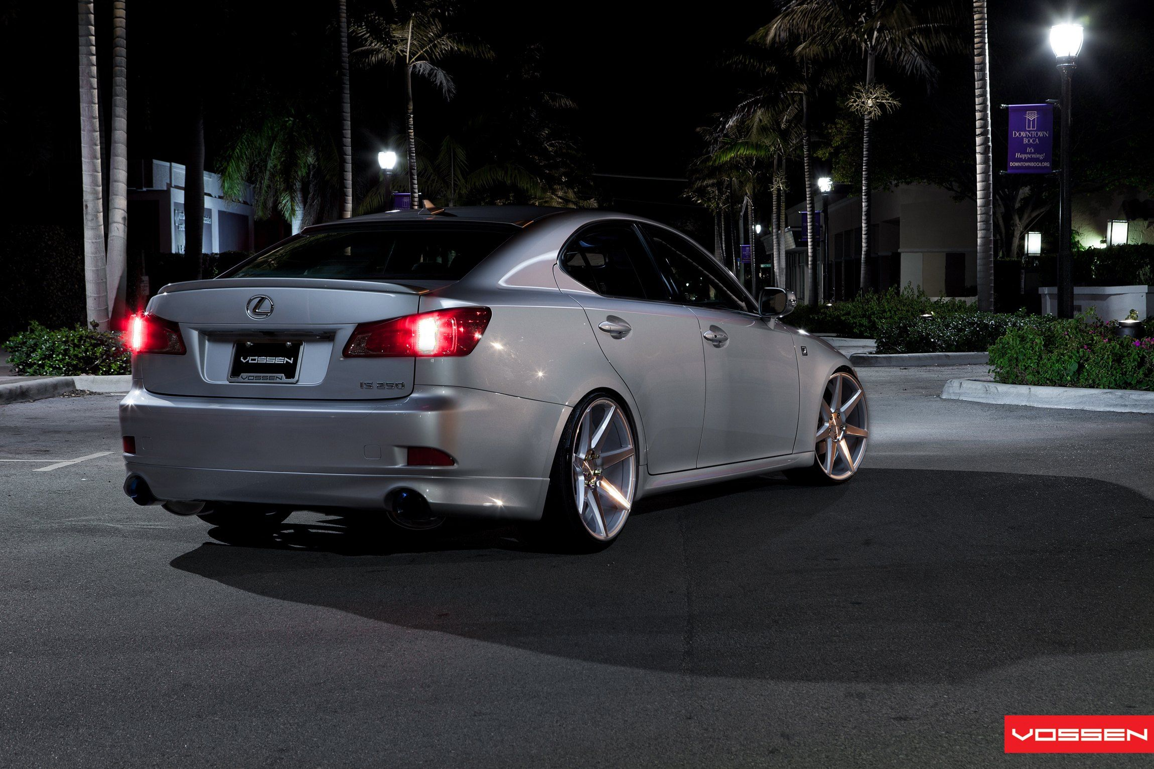 Lowered Lexus IS350 Gets Custom Touches and Vossen Rims