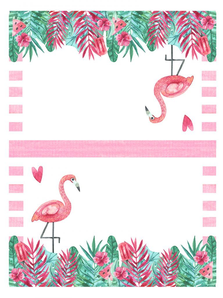 Free Printable Flamingo Party Pack The Cottage Market Flamingo Themed Party Flamingo Party Flamingo Party Decor