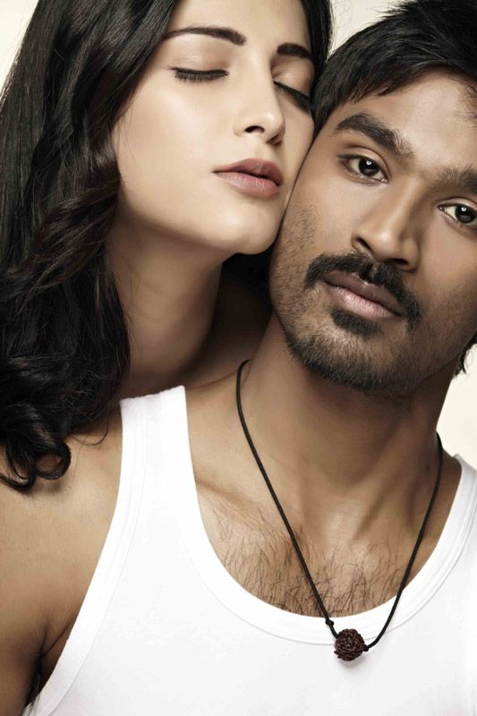 Shruti Haasan And Dhanush Still From 3 With Images Actor