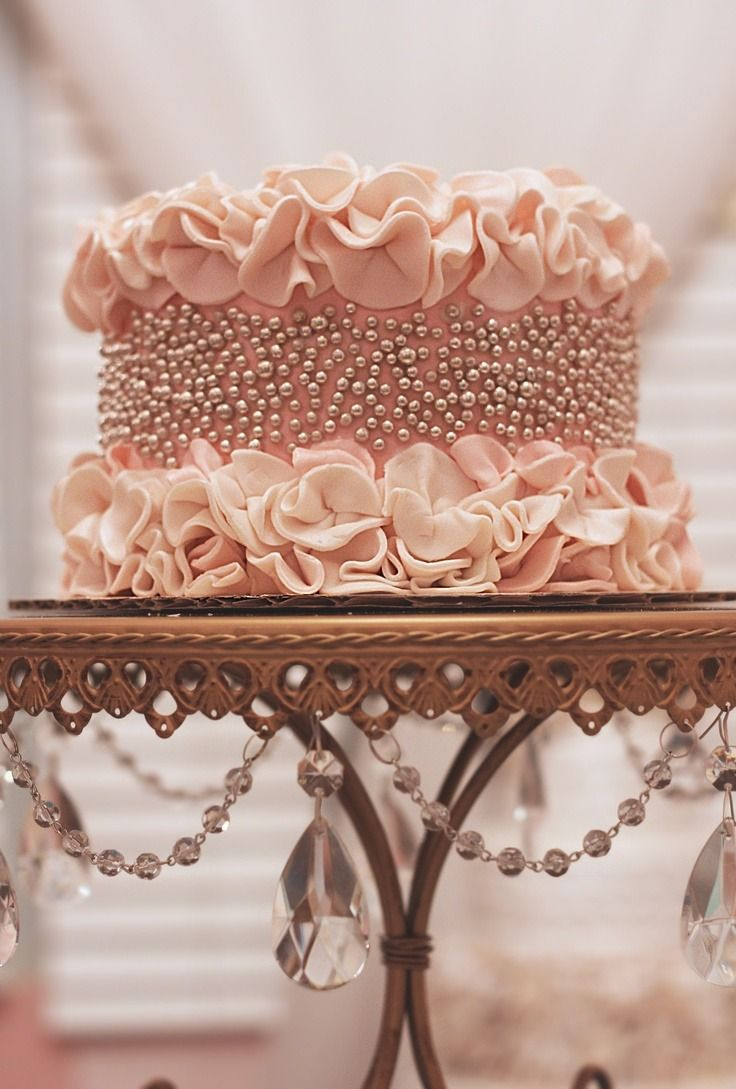 The Most Beautiful, Feminine Cake I Have Ever Seen  Sorry