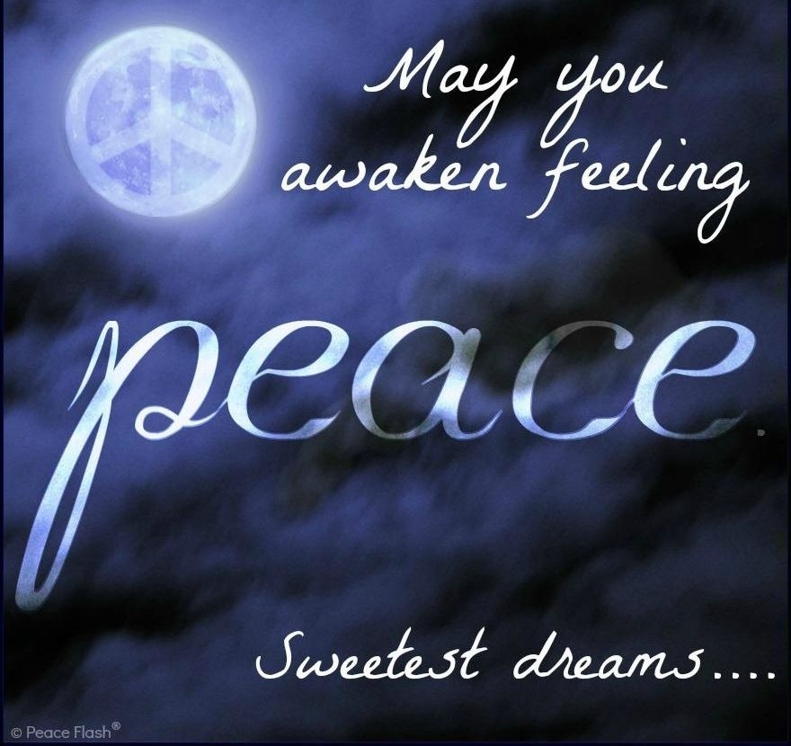 Image result for Good Night blingee quotes on peace