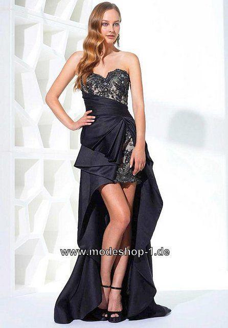Abendkleid schwarz 48