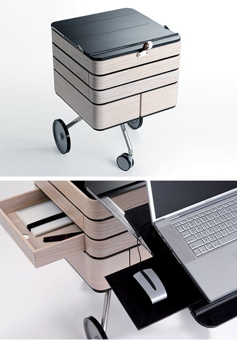 Best designed mobile workstation ever furniture design for Mobile furniture design