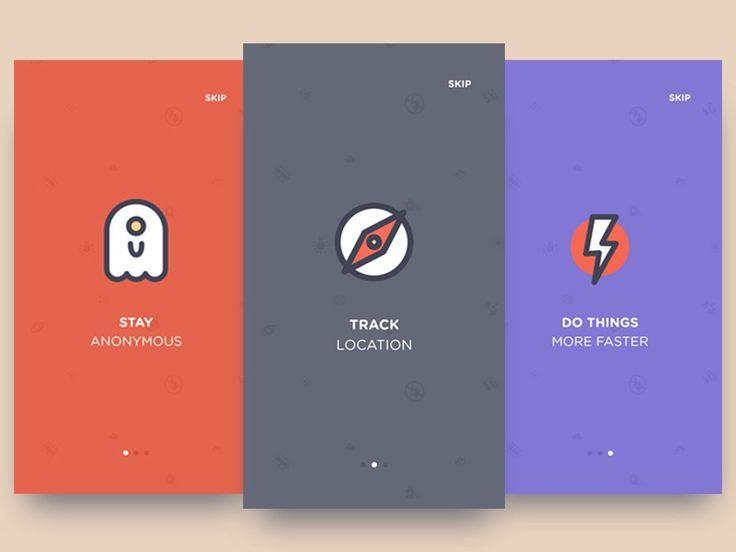Onboarding inspiration for mobile apps — Muzli -Design Inspiration ...