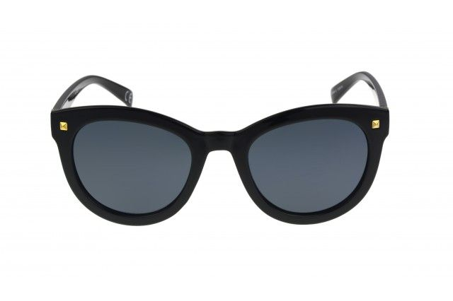 82ed83bd6fd Bria Foster Grant woman s sunglasses in all black provide a mysterious yet  polished look. Polarized lenses reduces glare and provides richer color and  ...