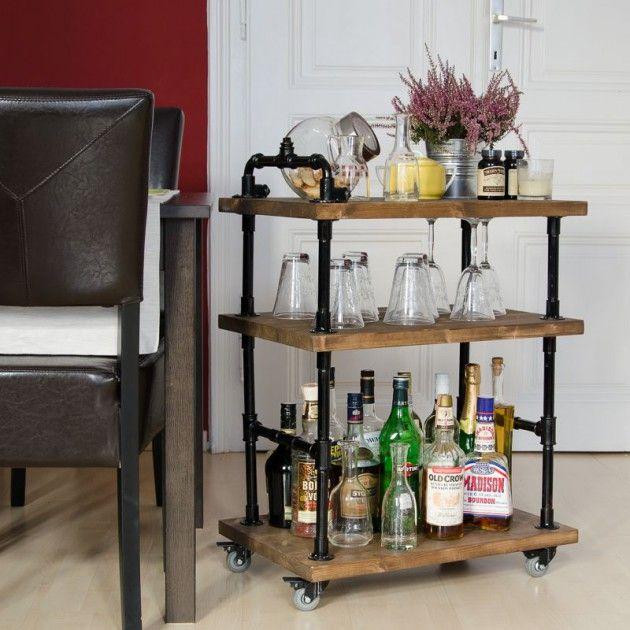 12 DIY Ideen Für Eine Bar Zu Hause Für Die Besten Feiern!   DIY