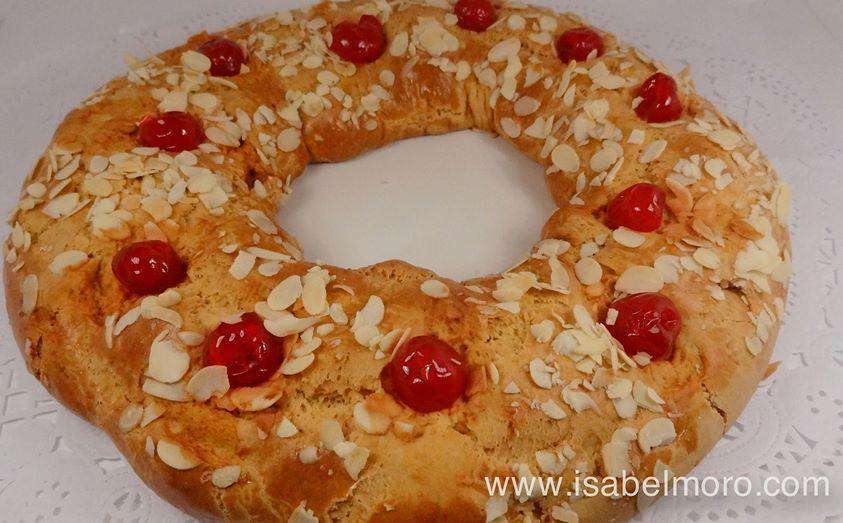 www.isabelmoro.com Bueno para ser el primero que hago no está nada mal. Lo prometido es deuda. Aquí tenéis el roscón de Reyes