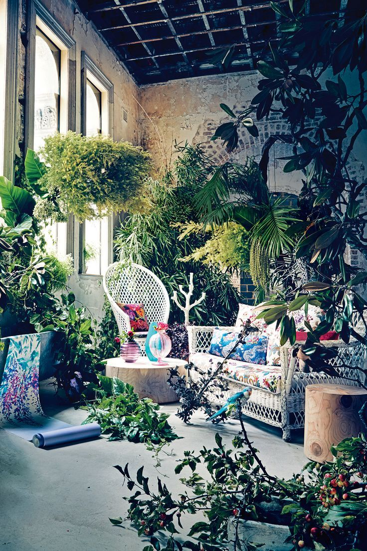Free your Wild Beach Boho Living Space Bedroom