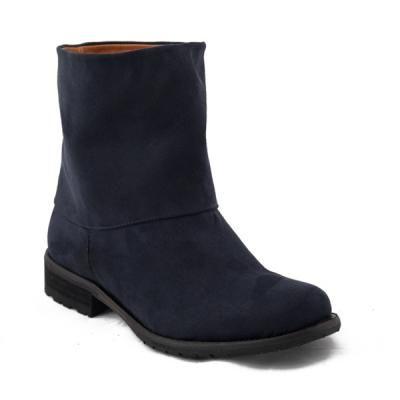 Nae Short Navy Mira Vegan Boots Vegan Leather Shoes Vegan Boots Boots