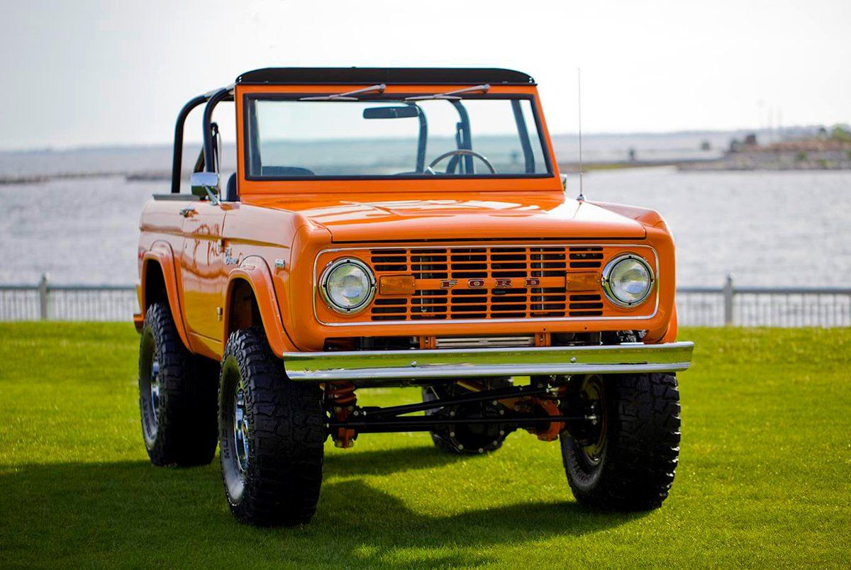 1972 classic ford bronco coyote for sale