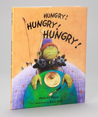 Another great find on #zulily! Hungry, Hungry, Hungry Hardcover by Peachtree Publishers #zulilyfinds