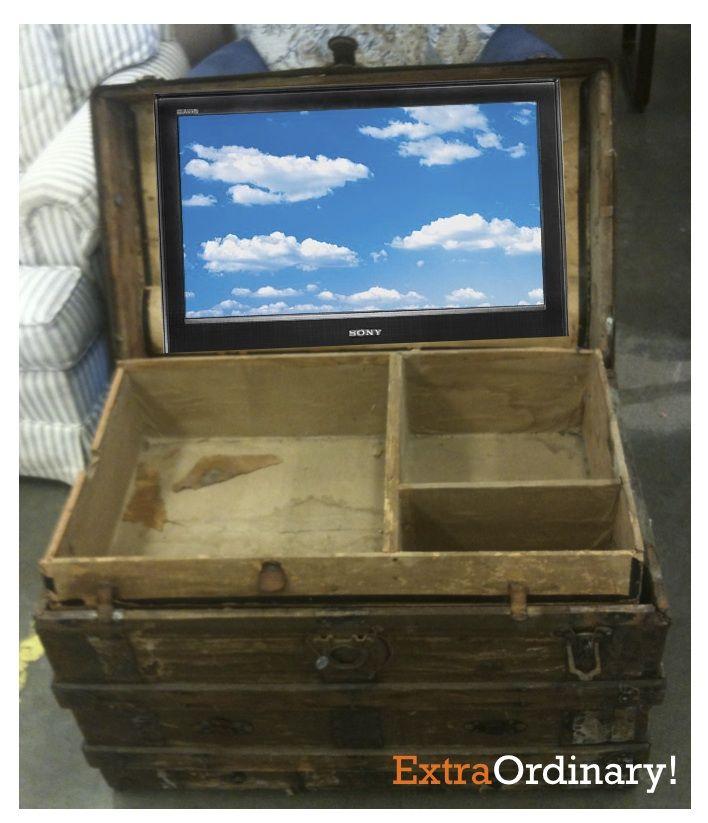 pingl par isabelle sur id es pour la maison pinterest meuble t l t l vision cach e et maison. Black Bedroom Furniture Sets. Home Design Ideas