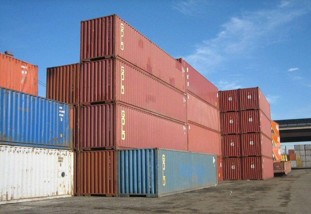 40ft Shipping Storage Container Conex Box Los Angeles