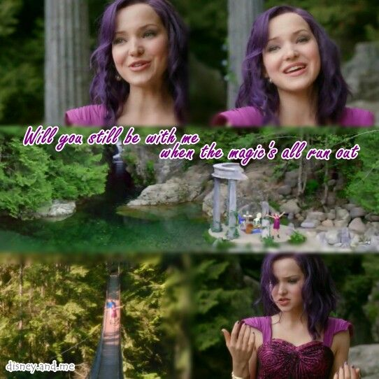 The Descendants Movie Quotes: Disney Descendants. Mal. If Only. Dove Cameron.