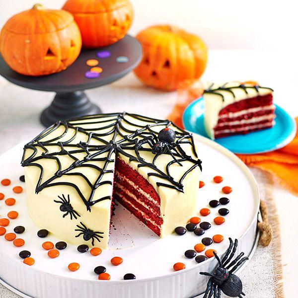 Wacky Web Halloween Cake at Westfield Woden Halloween Pinterest - decorating halloween cakes