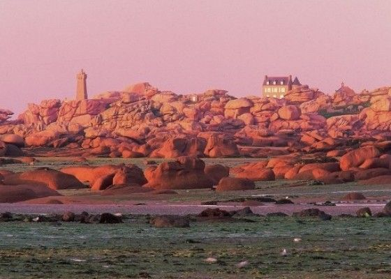 Cote De Granit Rose With Images Travel Sights Places Around The World Brittany France