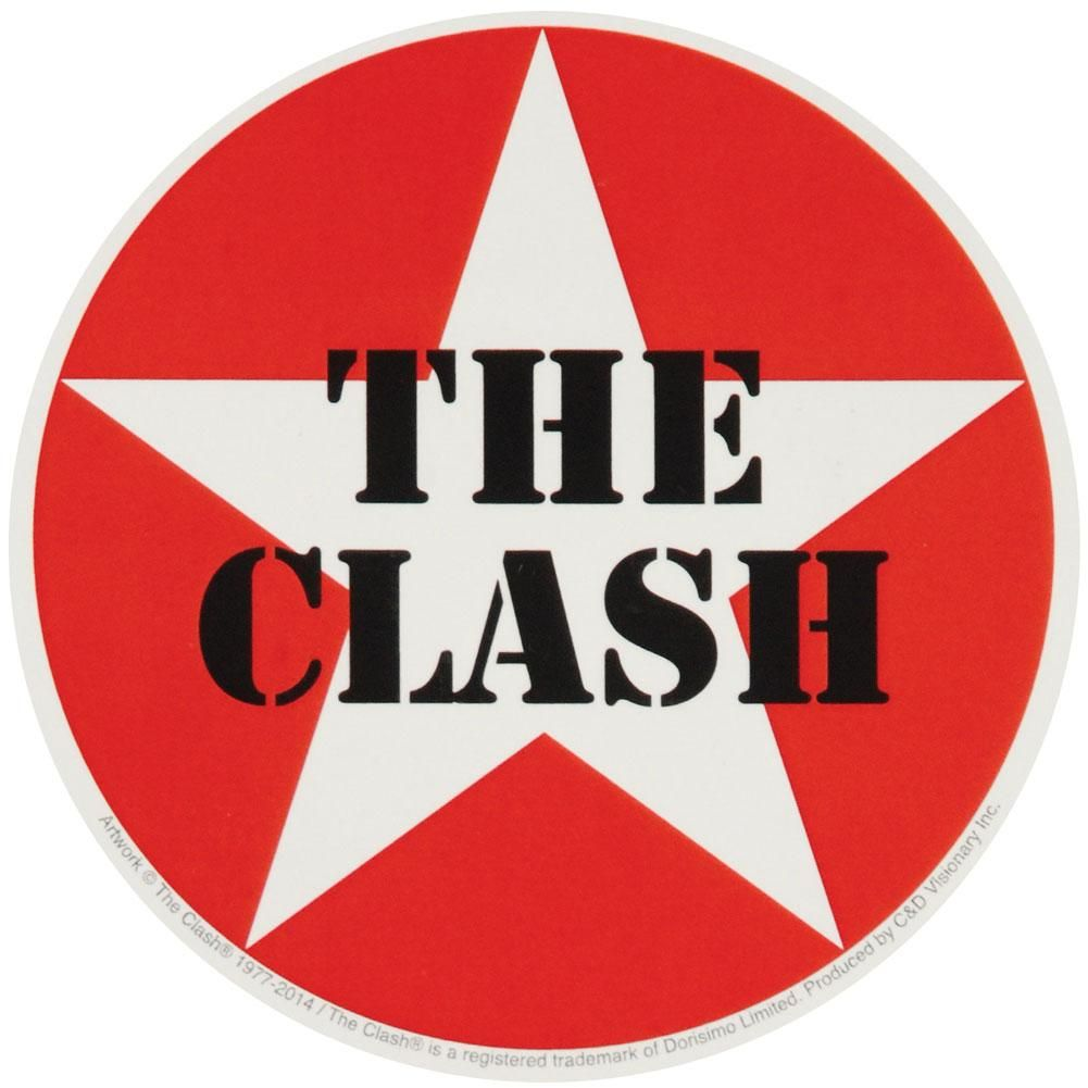 Star Logo Sticker In 2021 Rock Band Logos The Clash Rock Band Posters