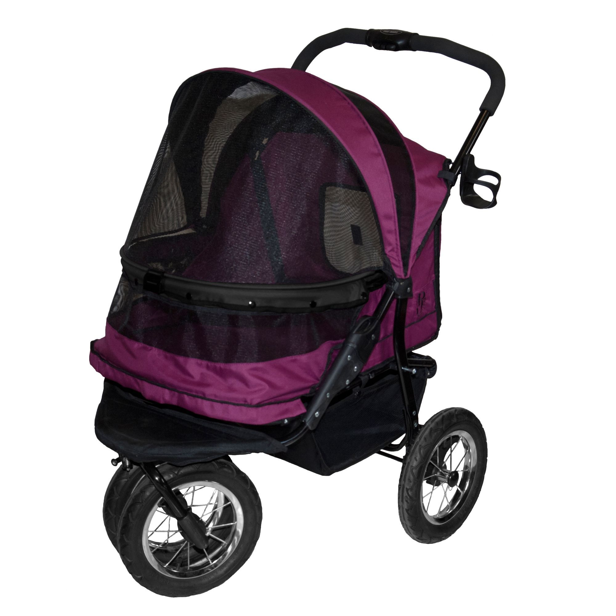 "Pet Gear NOZIP Double Pet Stroller size 27""L x 20""W x 23"