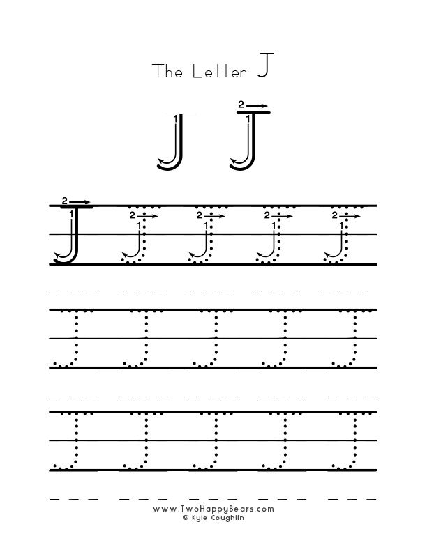 practice worksheet for writing the letter j upper case with several connect the dots examples. Black Bedroom Furniture Sets. Home Design Ideas
