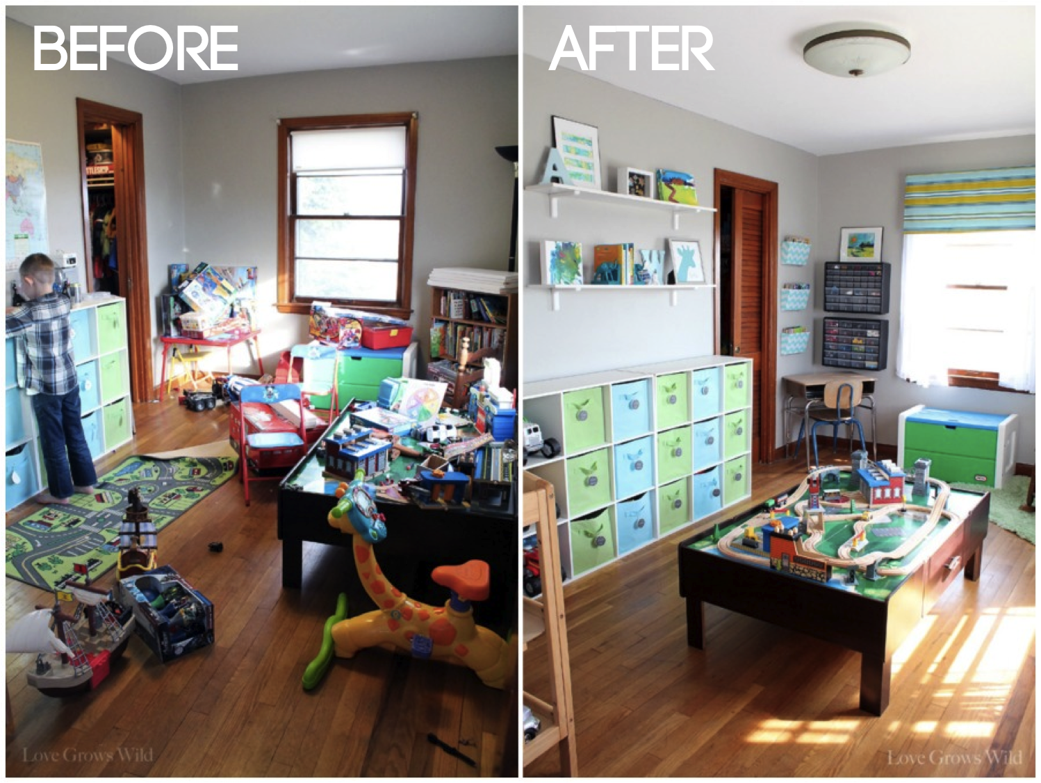Uncategorized How To Make Your Room More Organized playroom makeover room reveal playrooms kids s and organizing with tips decor ideas