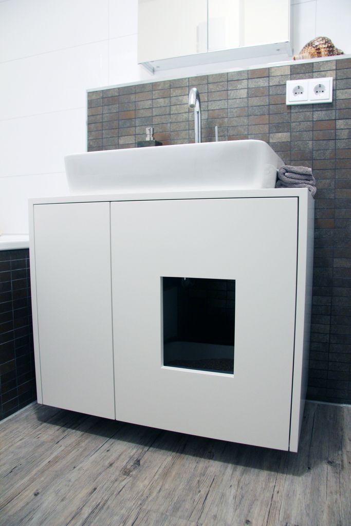 cat toilette katzenklo katzen katzenklo und. Black Bedroom Furniture Sets. Home Design Ideas
