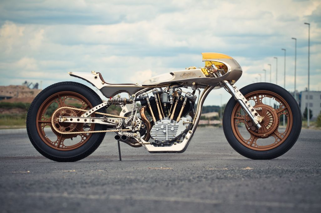 PainTTless 2012 Sturgis AMD World Champion by Thunderbike Germany ~ Return of the Cafe Racers