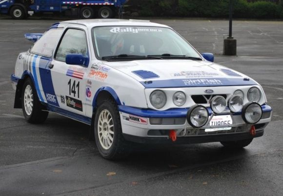 Dirt For Cheap 1989 Merkur Xr4ti Rally Car Rally Car Car Rally