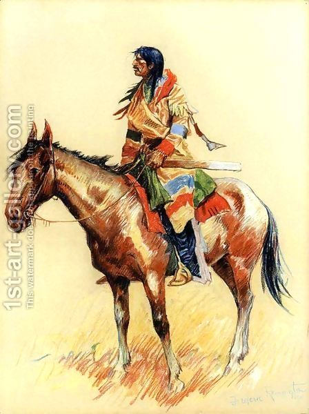 A Breed Frederic Remington | Oil Painting Reproduction | 1st-Art-Gallery.com