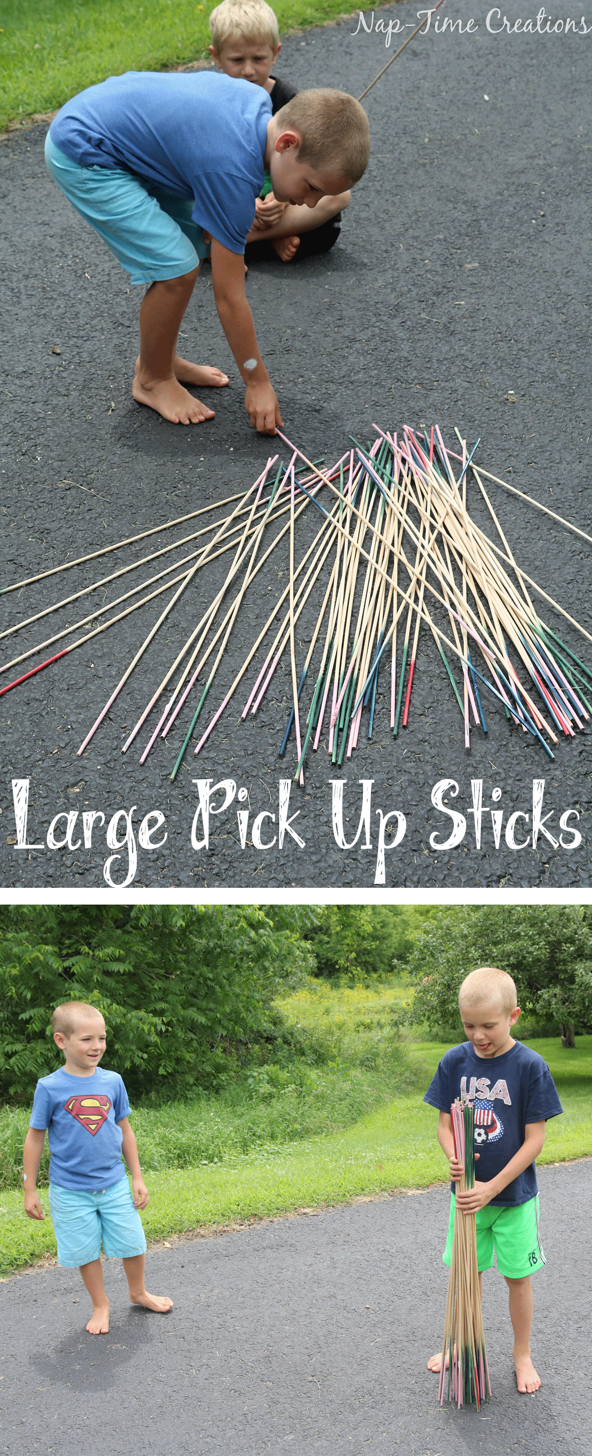 Love this extra large pick up sticks game A perfect outdoor game