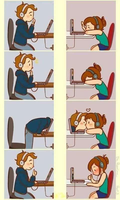 Amor A Distancia U U Historieta De Amor Anime Love