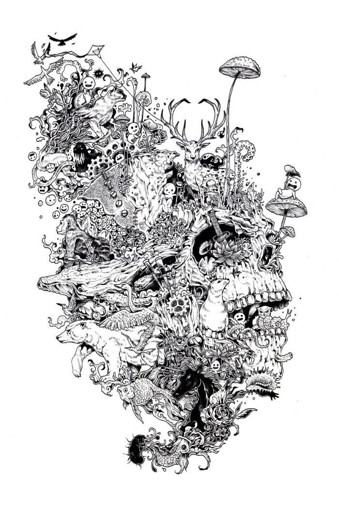 Growth Art Print by Kerby Rosanes | Print | Pinterest | Arte, Arte ...