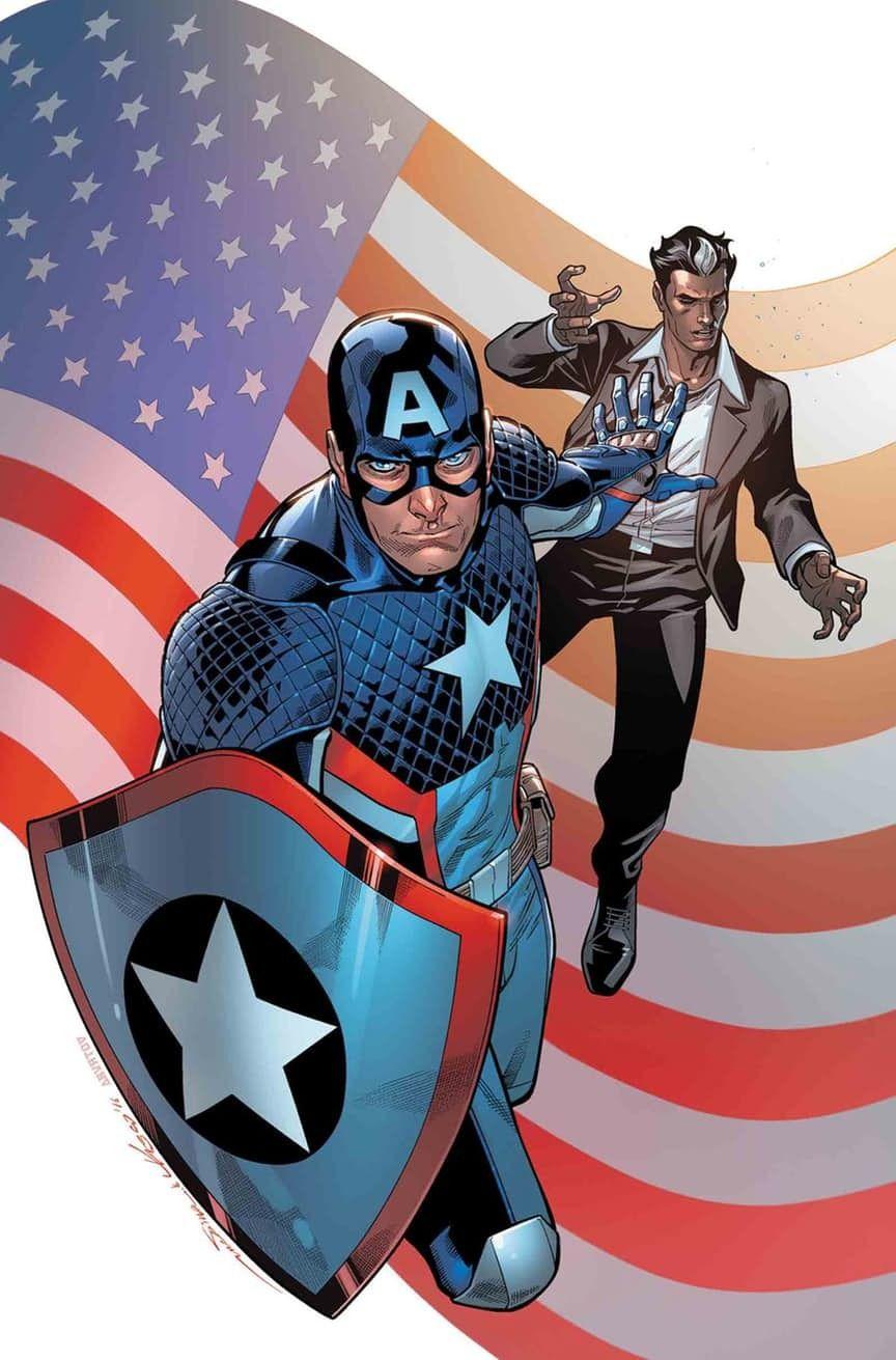 Paco Medina Usavengers Steve Rogers Cómics Avengers