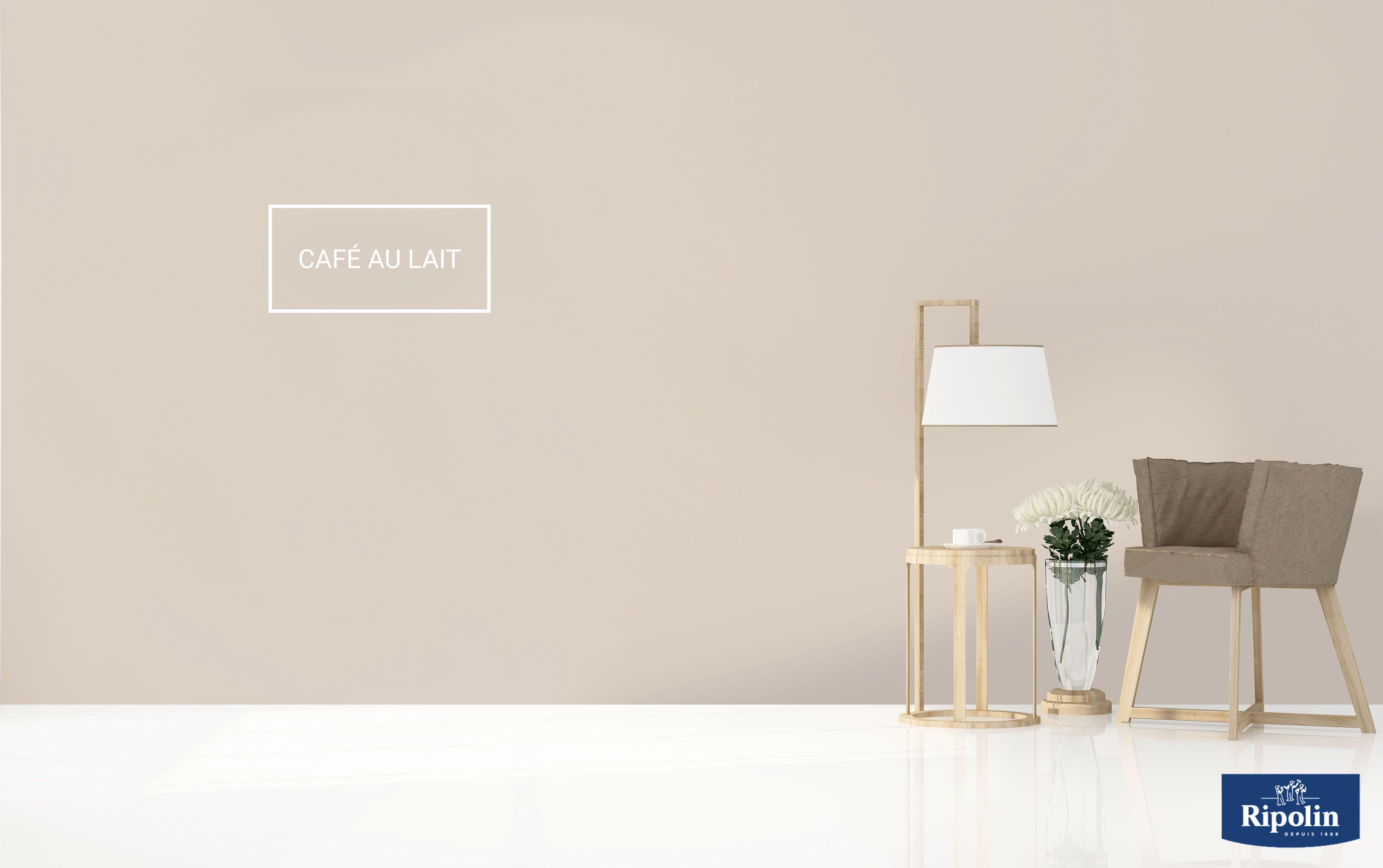 Synonyme de douceur et d\'harmonie, la teinte Café au Lait ...