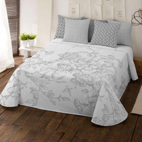 Colcha bouti Cloe | Colchas bouti, Colcha blanca para cama